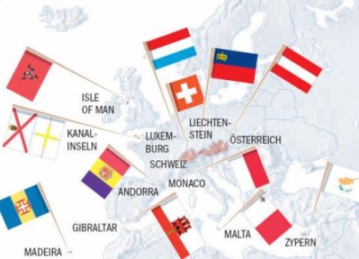 Steueroasen in Europa