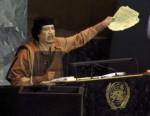 Gaddafi in der UNO