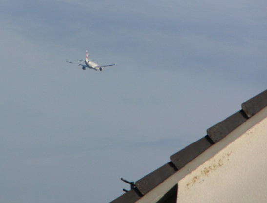 Suedanflug über Binz