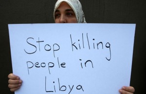 Killing people in Libya