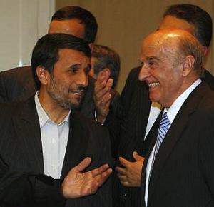 Ahmadinedschad und Merz
