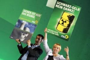 Atomgegner im Wahlkampf