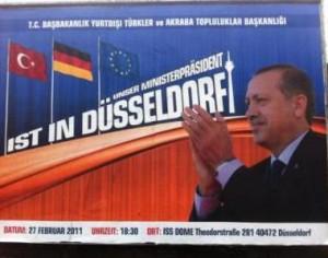 Unser Ministerpräsident ist in Deutschland