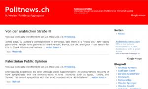 Politnews.ch - Politblog Aggregator