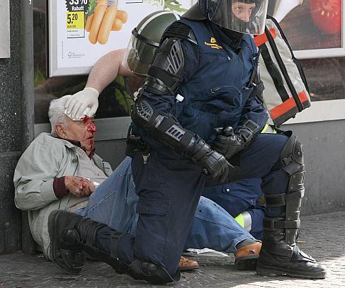 Opfer linksextremer Gewalt