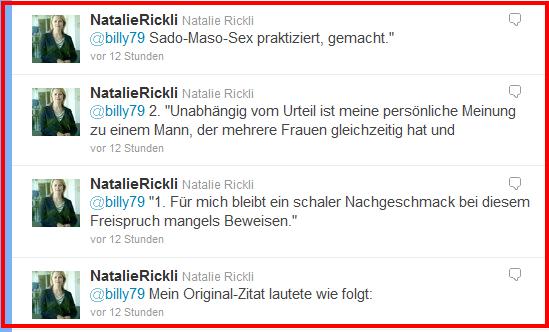 Natalie Rickli zum Urteil von Jörg Kachelmann