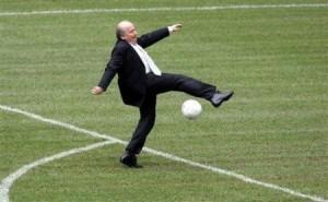 FIFA Präsident Sepp Blatter