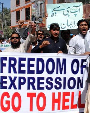 Meinungsfreiheit zur Hölle
