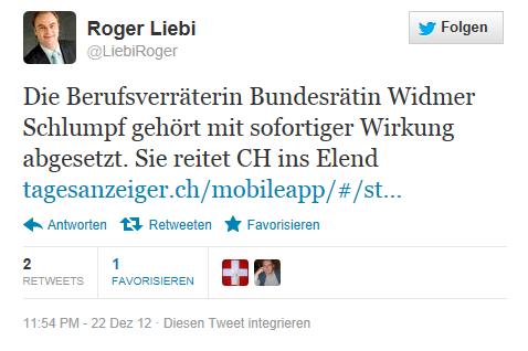 Roger Liebi Widmer Schlumpf