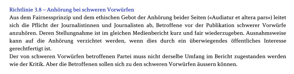 Presserat_Richtlinie38