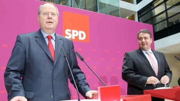 Peer-Steinbrueck und Sigmar-Gabriel