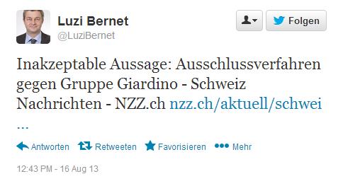 Luzi Bernet