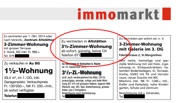 Rheintaler Bote vom 4. September 2013, Seite 7