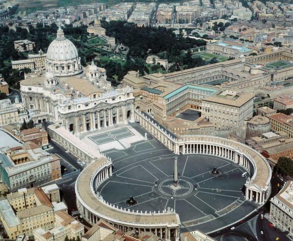Vatikan: Sitz des Bischofs von Rom