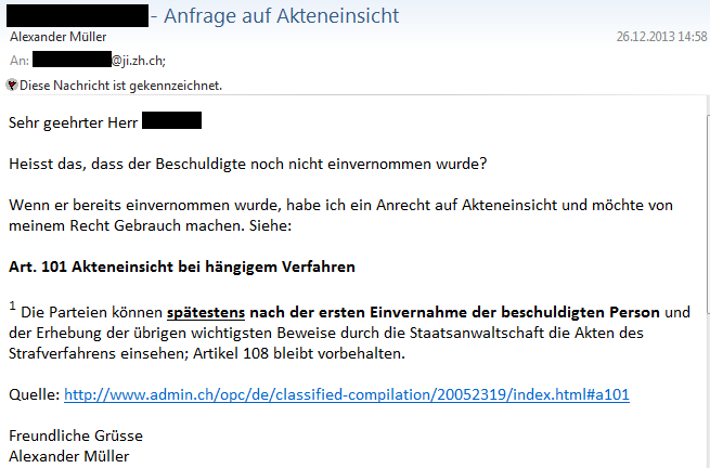 Staatsanwaltschaft Zürich-Limmat