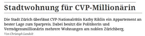 CVP-Millionaerin