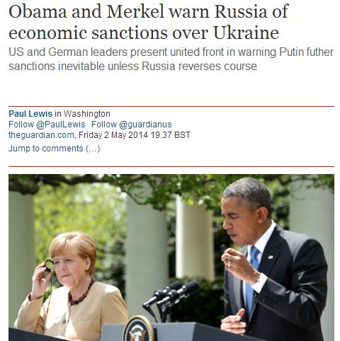 Merkel und Obama verkörpern die Doppelmoral des  Westens