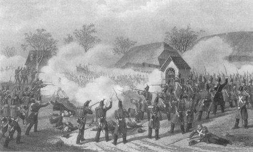 Gefecht bei Geltwil, 12. November 1847