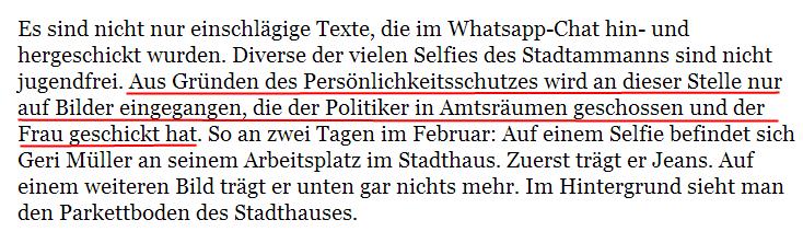 Der linksgrüne Badener Stadtpräsident hat im Gegensatz zu bürgerlichen Schulpflegern Persönlichkeitsrechte