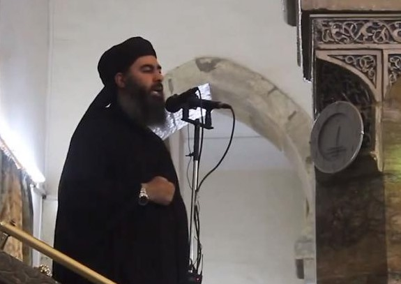 Abu Bakr al-Baghdadi, der Kalif des Islamischen Staats
