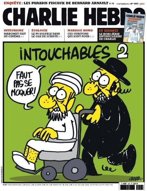 Cover von Charlie Hebdo