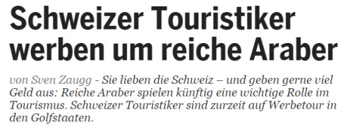 Regimetreue Reiche aus Golfstaaten sind in der Schweiz gerne gesehene Gäste