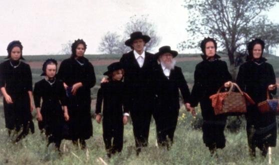 Das sind christliche Amische und keine Juden!