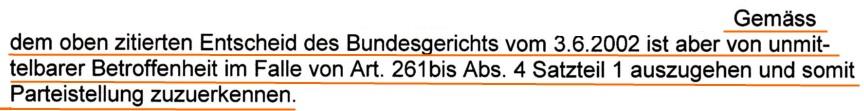 Staatsanwaltschaft erkennt mich als Privatkläger in Sachen H. an (Vermieter, welcher Wohnung nicht an Schweizer vermieten wollte).