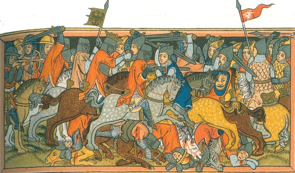 Die Schlacht bei Mühldorf fand am 28. September 1322 statt.