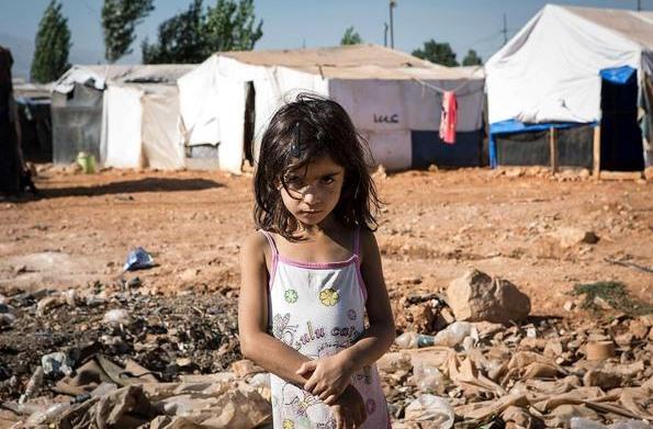So leben die armen Muslime, die aus Syrien fliehen mussten.