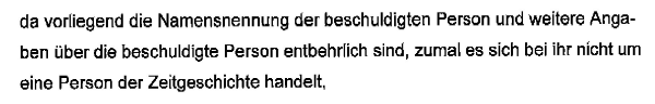 Auszug aus einer Verfügung des Bezirksgerichts Uster vom 19.05.2014