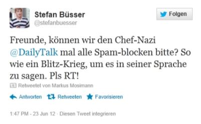 Parodist Stefan Büsser