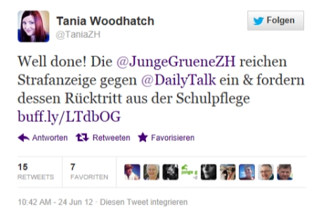 Tania Woodhatch, EVP Sieht so christliche Nächstenliebe aus? Gut, dass ich aus der evangelichen Kirche ausgetreten bin.