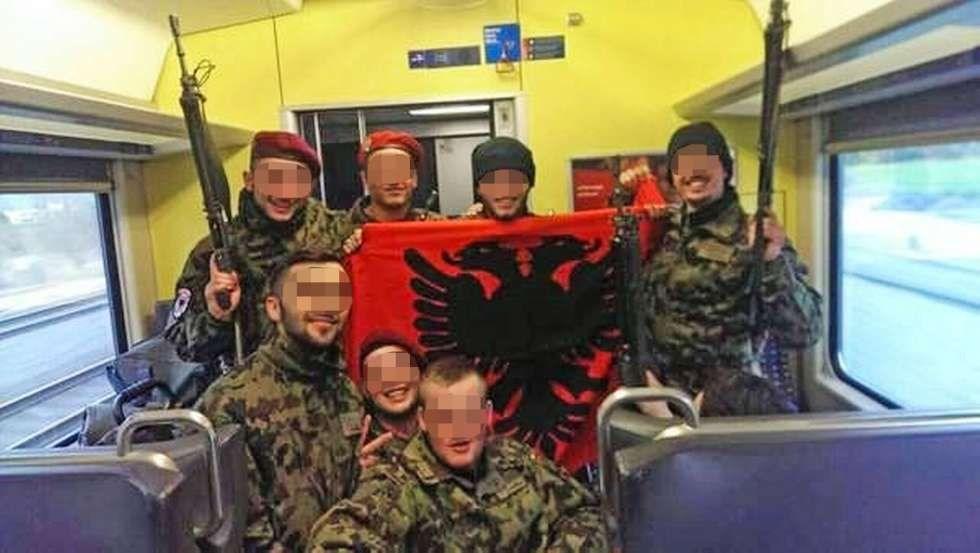 Albanerflagge